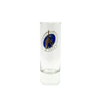 One World Observatory Clear Shooter w/ enamel