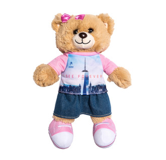 One World Observatory Bear girl