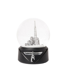 One World Observatory Snow Globe 80mm