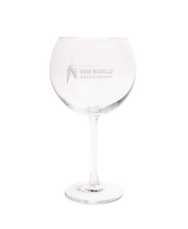 One World Observatory 20oz. Red wine glass