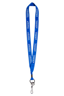 One World Observatory Blue Lanyard