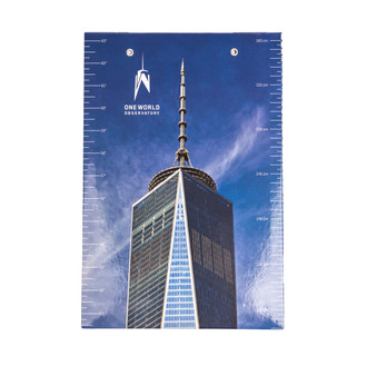 One World Observatory Growth chart