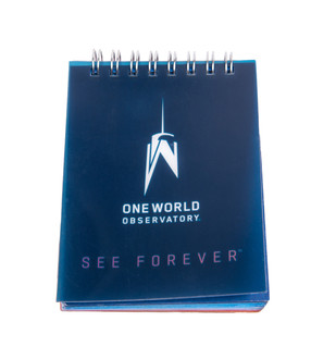 "One World Observatory 3"" Small Blue Notebook"