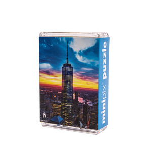 One World Observatory MiniPix Puzzle Night View
