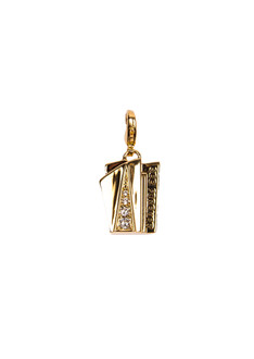 One World Observatory 2016 See Forever Gold Charm with crystals from Swarovski