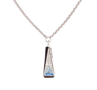 One World Observatory Tower Necklace with crystals from Swarovski