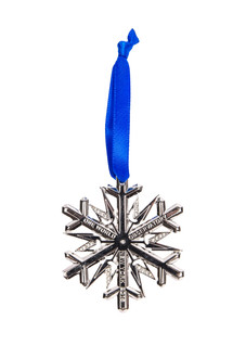 One World Observatory 2016 Snowflake Ornament with crystals from Swarovski