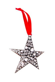 One World Observatory 2106 Star Ornament with crystals from Swarovski