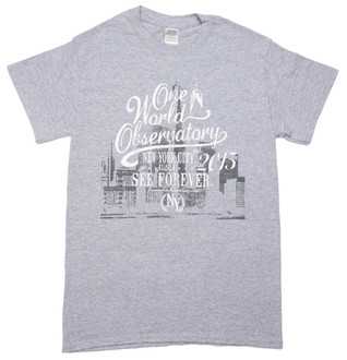 One World Observatory Scripty Tee