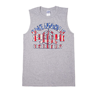 One World Observatory Men's RedWhite&Blue Tank