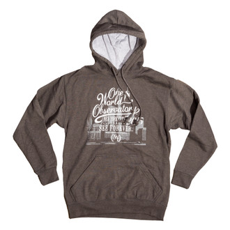 One World Observatory Grey Hoodie