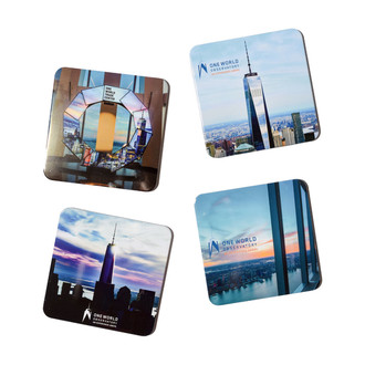 One World Observatory 4-pc Coaster Set