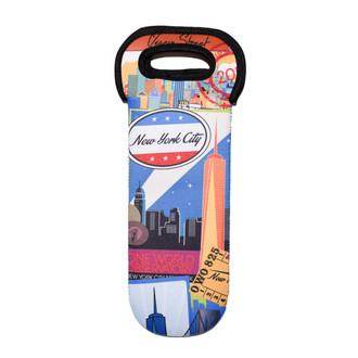 One World Observatory Vintage Wine Bottle Cozy