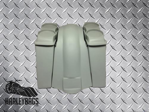 """4"""" Extended Saddlebags, 2x Dual Speaker Lids & Fender - Harley Davidson"""