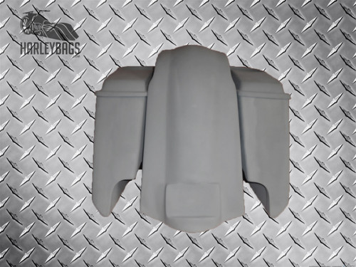 "5"" Stretched Saddlebags, Speaker Lids & Fender - Harley Davidson"