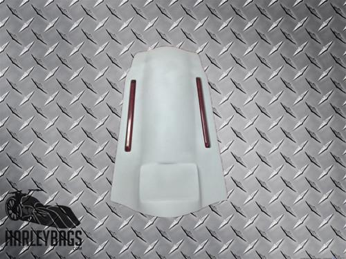 """6"""" Stretched Fiberglass Rear Fender LED Brake Lights For Harley Davidson Touring"""