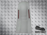 "8"" Extended Stretched Rear Fender w/LED Brake Lights - Harley"