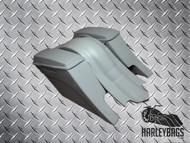 "Harley Custom ""Down-n-Out"" Stretched Saddlebag and Fender Set - Dual Cut Outs"