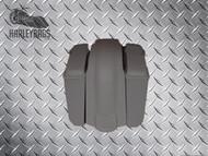 """Harley Davidson 5"""" Stretched Saddlebags, Speaker Lids & Fender - No Cut Outs"""