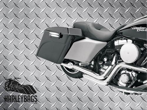 Harley Davidson Arlen Ness Stretched Side Covers 09 - 13 FLHT, FLHR, FLTR, FLHX