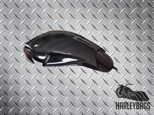 Harley Davidson Black Custom Python V-Rod Air Box Cover - VRod VRSC VRSCAW
