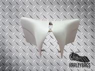Harley Davidson Custom Stretched Side Cover Panels '96 - '08 - Snap-on