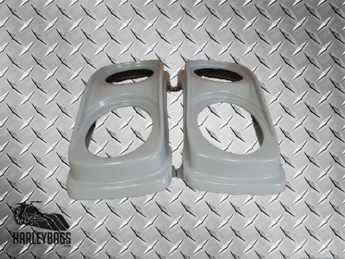 "Harley Davidson Saddlebag Double Dual 6""x9"" Speaker Lids"