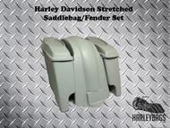"""Harley Davidson Softail 6"""" Stretched Saddlebags and Fender 6x9 Speaker Bag Lids"""