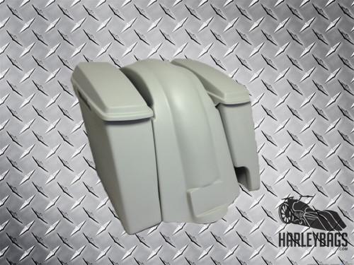 Harley Davidson Softail Heritage Fat Boy Extended Stretched Saddlebags Lids & Fender