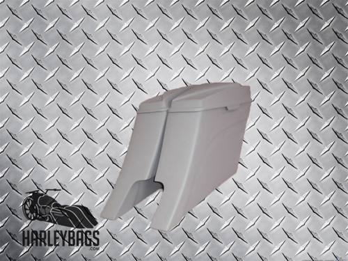 """Harley Davidson Stretched Saddlebags 6x9 Speaker Lids - 2014 """"Down + Out"""" Style"""