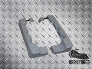 "Harley Davidson Touring 4"" Saddlebag Extensions - Stretched Fiberglass"
