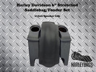 "Harley Davidson Touring 6"" Stretched Saddlebags & Fender 6""x9"" Speaker Lids"