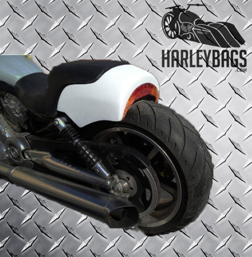 "Harley Davidson V-Rod Muscle Custom 6.5"" Cut Off Short Rear Fender VRod VRSCF"