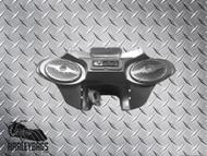 Harley Touring Bagger Motorcycle Batwing Fairing 6x9 Speakers & CD Player MP3 Radio