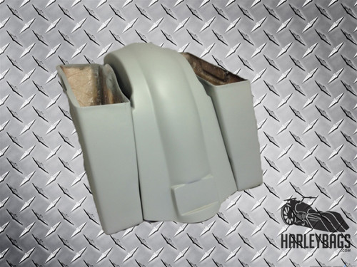 Softail Heritage Deluxe Extended Stretched Saddlebags & Fender Harley Motorcycle