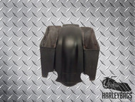 Harley Stretched Fiberglass Saddle Bags & Fender Set with Dual Cut Outs