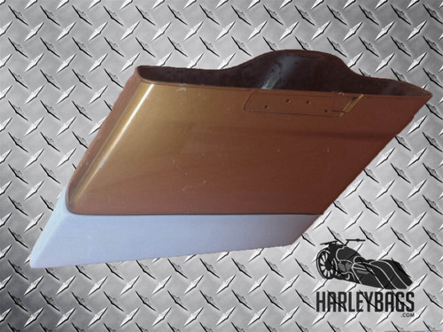 "2014 - 2015 Harley Davidson Touring 4"" Hard Stretched Saddlebag Extensions"