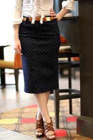 Delia Premium Denim Skirt