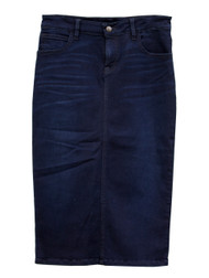 Dark Premium Denim Skirt (reflecting pond