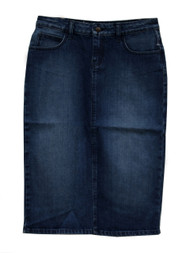 Erika Premium Denim Skirt - SAMPLE - MEDIUM