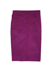 Premium Colored Denim Skirt