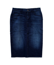 Zara Premium Dark Denim Skirt