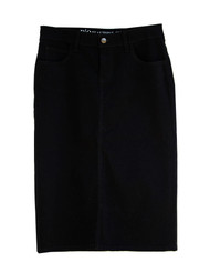 NEW Premium Denim Skirt - Black