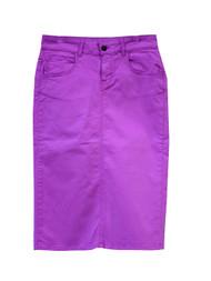 NEW Premium Denim Skirt - Striking Purple - Ships Early December