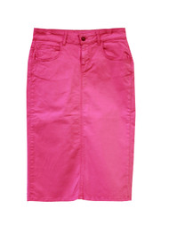 NEW Premium Denim Skirt - Paradise Pink