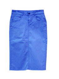 NEW Premium Denim Skirt - Dazzling Blue