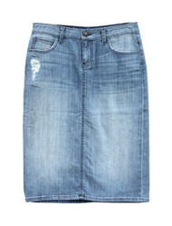 Ashley Premium Denim Skirt - Ships Early December