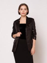 Gathering Sleeve Detail Jacket