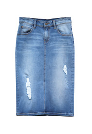 Josey Premium Stretch Distressed Denim  - Ships Early December