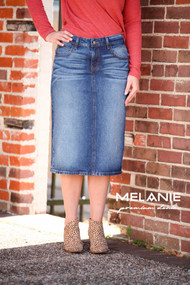 Melanie Dark Indigo Wash- Ships Early December